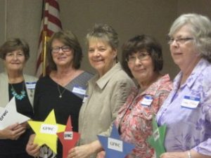 GFWC of MN West Central District Officers 2016-2018